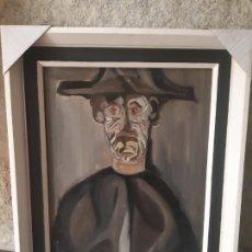 Arte: PINTURA DEL CIRCULO ANTONIO SAURA ABSTRACCIÓN EXPRESIVA AÑOS 70. Lote 261696580