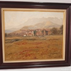 Arte: OLEO SOBRE LIENZO POR L. ZABALETA.. Lote 261781935