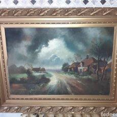 Art: CUADRO OLEO SOBRE LIENZO,HOLANDES,FIRMADO Y FECHADO 1929. Lote 261907115