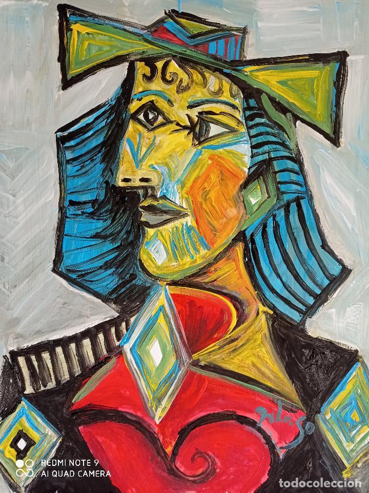 RETRATO CUBISTA (Arte - Pintura - Pintura al Óleo Contemporánea )