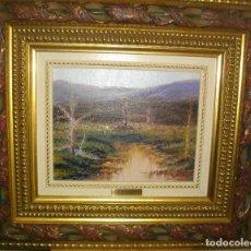 Arte: OLEO SEBRE LIENZO FIRMADO V.. PUIG ( 47 X 42CTMS CON MARCO DE CALIDAD). Lote 262074065