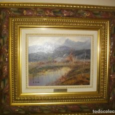 Arte: OLEO SEBRE LIENZO FIRMADO V.. PUIG ( 47 X 42CTMS CON MARCO DE CALIDAD) INCLUIDO. Lote 262074155