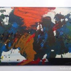 Arte: GRAN ÓLEO SOBRE TABLEX DE JORDI ROCA (RIPOLL 1933). 1997. MOZART. GRAN COLORIDO.. Lote 262116320