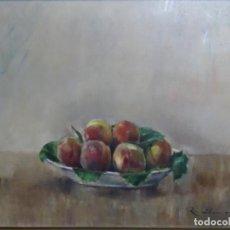 Arte: ÓLEO NOUCENTISTA DE RAFAEL LLIMONA I BENET (BCN 1896-1957). BODEGON. SELLO JUAN SERRA.. Lote 262128785