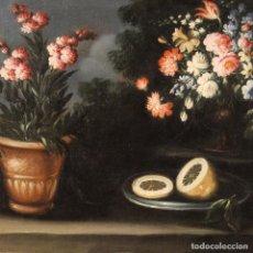 Arte: PINTURA DE BODEGÓN ITALIANO ANTIGUO DEL SIGLO XVIII.. Lote 262178840