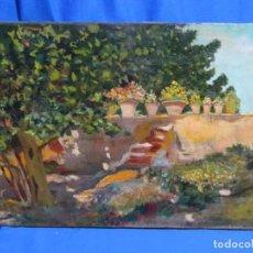 Arte: ÓLEO DE GRAN CALIDAD ANONIMO. ESCUELA CATALANA. GRAN COLORIDO Y EXCELENTE TRAZO.. Lote 262325745