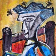 Arte: RETRATO CUBISTA. Lote 262432730
