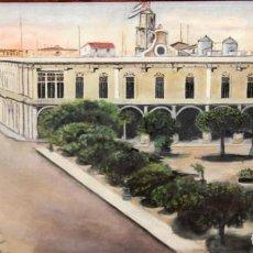 Arte: ESCUELA CUBANA DE AUTOR DESCONOCIDO. OLEO SOBRE TELA. PLAZA DE ARMAS (LA HABANA). Lote 262510485