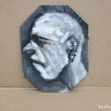 Arte: JOSEP ALCALA VARGAS. OLEO SOBRE CARTON. EL ADONIS. Lote 262553580