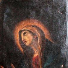 Arte: ESCUELA ESPAÑOLA DEL S.XVIII - VIRGEN EN ORACIÓN. OLEO/LIENZO 62X47CM(ENMARCADO). Lote 262561485