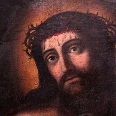 Arte: ESCUELA ESPAÑOLA (S.XVIII) - ECCE HOMO. OLEO / LIENZO 81X62CM. Lote 262561995