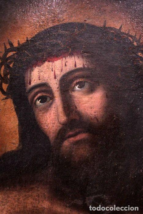 Arte: Escuela española (s.XVIII) - Ecce Homo. Oleo / lienzo 81x62cm - Foto 6 - 262561995
