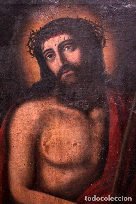 Arte: Escuela española (s.XVIII) - Ecce Homo. Oleo / lienzo 81x62cm - Foto 7 - 262561995