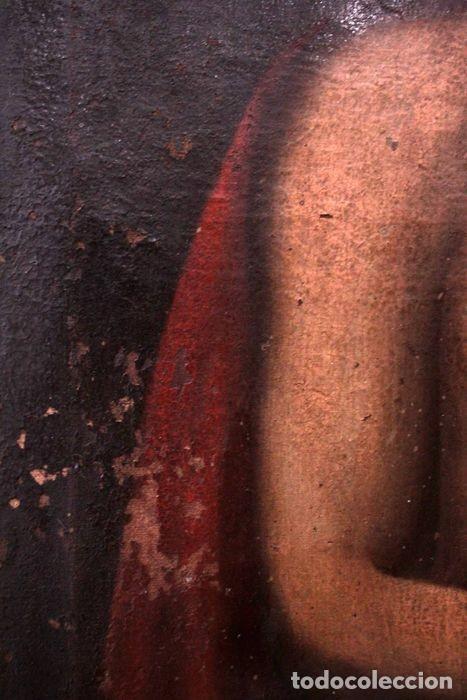 Arte: Escuela española (s.XVIII) - Ecce Homo. Oleo / lienzo 81x62cm - Foto 8 - 262561995