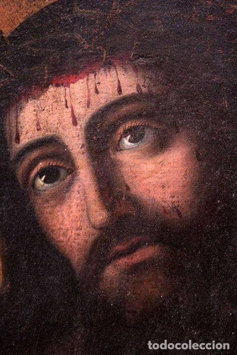Arte: Escuela española (s.XVIII) - Ecce Homo. Oleo / lienzo 81x62cm - Foto 9 - 262561995