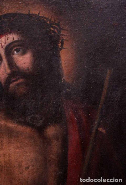 Arte: Escuela española (s.XVIII) - Ecce Homo. Oleo / lienzo 81x62cm - Foto 11 - 262561995
