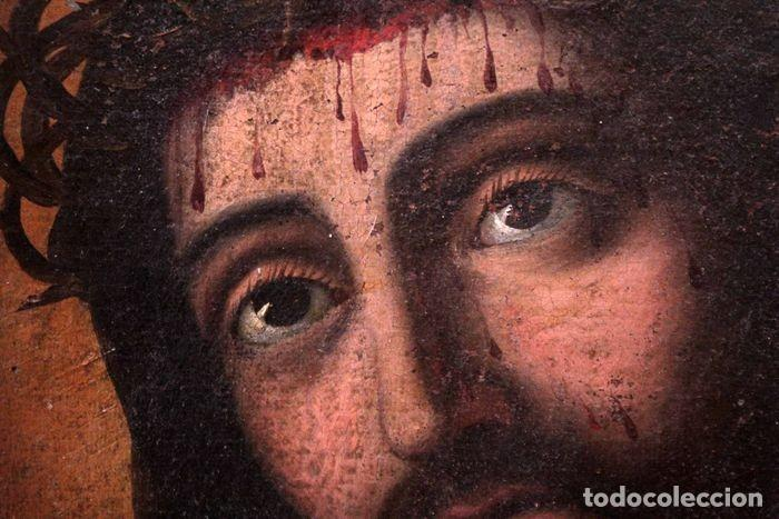 Arte: Escuela española (s.XVIII) - Ecce Homo. Oleo / lienzo 81x62cm - Foto 12 - 262561995