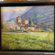 Arte: PRECIOSO PAISAJE(SANTA MARÍA DE LEBEÑA). Lote 262592705