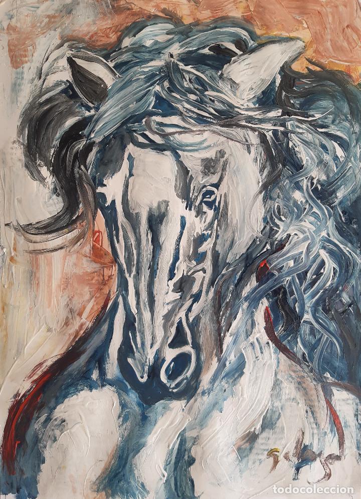 CABALLO (Arte - Pintura - Pintura al Óleo Contemporánea )