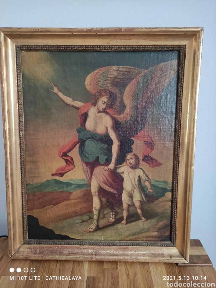 ÓLEO SOBRE TELA S. XVIII (Arte - Pintura - Pintura al Óleo Antigua siglo XVIII)