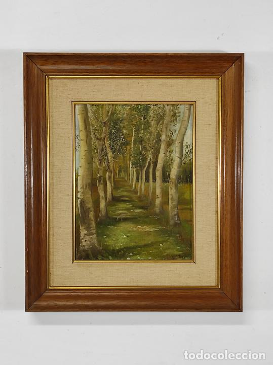 Arte: J. Berga Boada (Olot 1872-Sant Feliu Guixols 1923) - Óleo sobre Tela - Paisaje - Foto 5 - 262686055