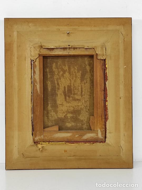Arte: J. Berga Boada (Olot 1872-Sant Feliu Guixols 1923) - Óleo sobre Tela - Paisaje - Foto 6 - 262686055