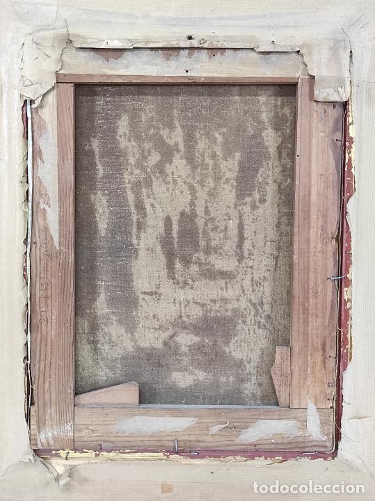 Arte: J. Berga Boada (Olot 1872-Sant Feliu Guixols 1923) - Óleo sobre Tela - Paisaje - Foto 7 - 262686055