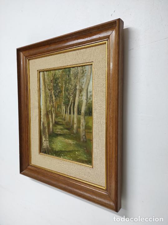 Arte: J. Berga Boada (Olot 1872-Sant Feliu Guixols 1923) - Óleo sobre Tela - Paisaje - Foto 8 - 262686055