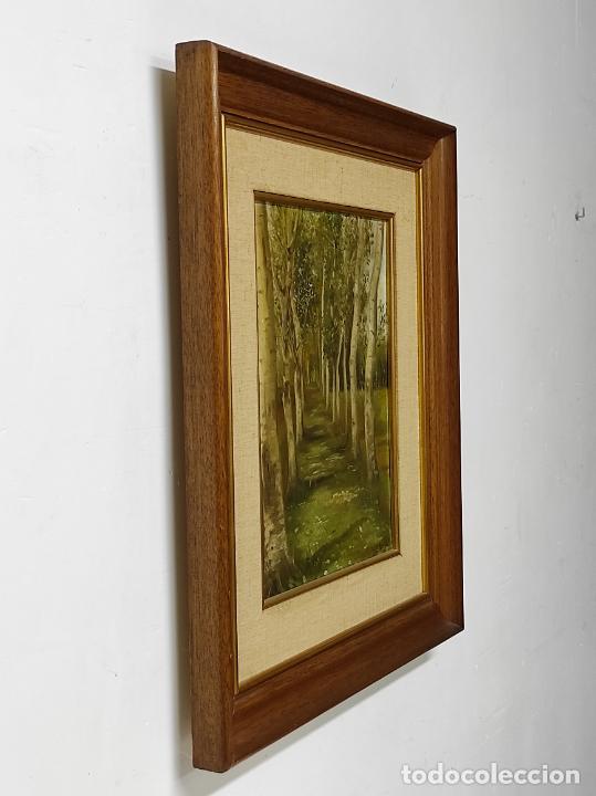Arte: J. Berga Boada (Olot 1872-Sant Feliu Guixols 1923) - Óleo sobre Tela - Paisaje - Foto 9 - 262686055