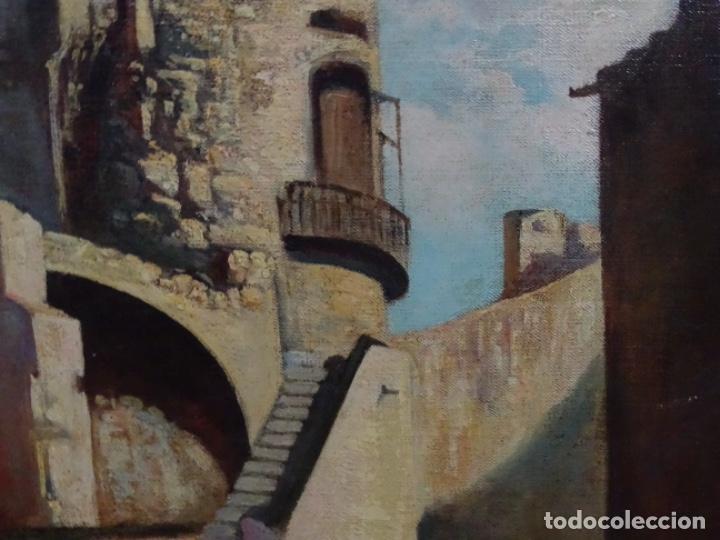 Arte: ÓLEO ANONIMO DEL SIGLO XIX. ESCUELA CATALANA DE GRAN CALIDAD. - Foto 6 - 262812945