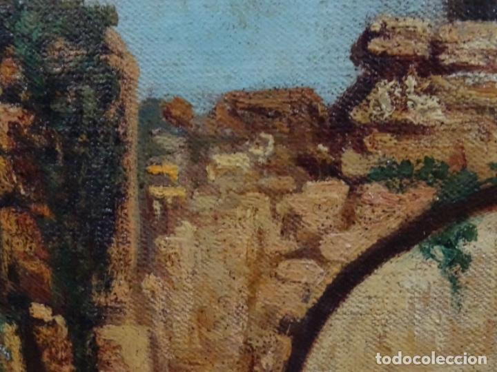 Arte: ÓLEO ANONIMO DEL SIGLO XIX. ESCUELA CATALANA DE GRAN CALIDAD. - Foto 15 - 262812945