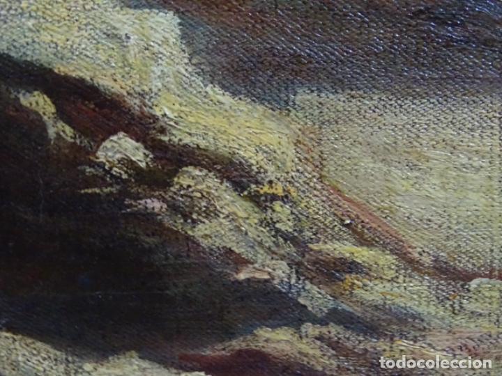 Arte: ÓLEO ANONIMO DEL SIGLO XIX. ESCUELA CATALANA DE GRAN CALIDAD. - Foto 17 - 262812945