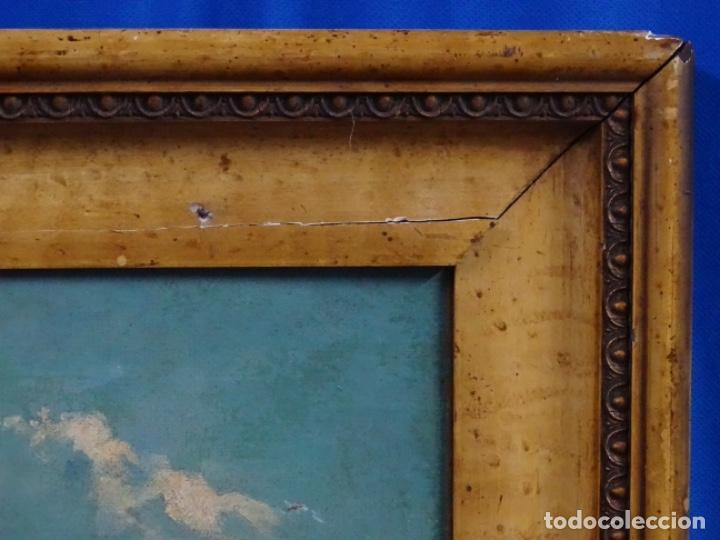 Arte: ÓLEO ANONIMO DEL SIGLO XIX. ESCUELA CATALANA DE GRAN CALIDAD. - Foto 18 - 262812945