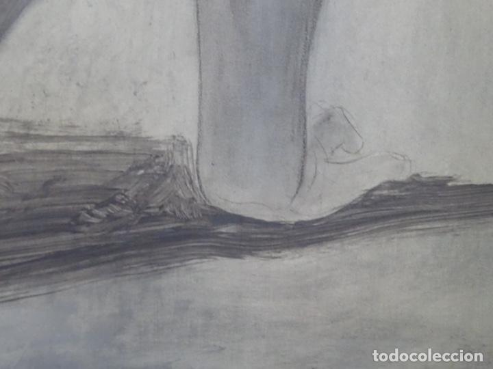 Arte: ÓLEO EN TABLEX DE JOAN RIFA I BENET (TORELLO 1926-2009). LA INÚTIL ESPERANZA. 1979. - Foto 16 - 262818685