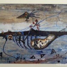 Arte: ÓLEO Y TÉCNICA MIXTA FIRMADO VAZ. CIRCULO JOAN PONÇ.. Lote 262819400