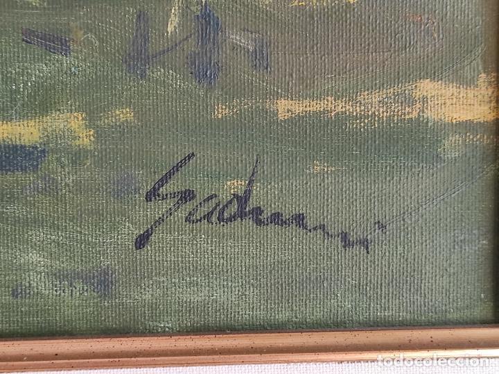 Arte: Antoni Maria Sadurní i Albanyà (Vic 1927-2014) - Óleo sobre Tela - Paisaje - Foto 4 - 262844320