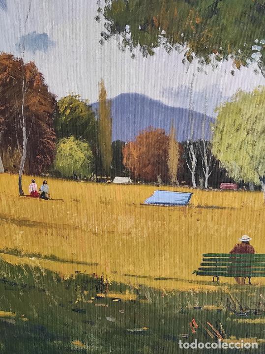 Arte: Antoni Maria Sadurní i Albanyà (Vic 1927-2014) - Óleo sobre Tela - Paisaje - Foto 5 - 262844320