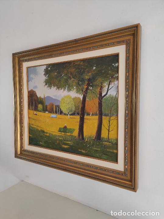 Arte: Antoni Maria Sadurní i Albanyà (Vic 1927-2014) - Óleo sobre Tela - Paisaje - Foto 9 - 262844320