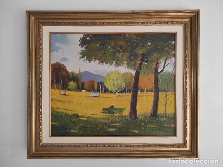ANTONI MARIA SADURNÍ I ALBANYÀ (VIC 1927-2014) - ÓLEO SOBRE TELA - PAISAJE (Arte - Pintura - Pintura al Óleo Moderna sin fecha definida)
