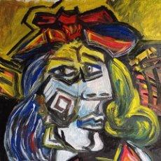 Arte: RETRATO CUBISTA. Lote 262845160