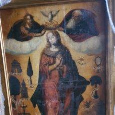 Arte: CIRCULO VICENTE MACIP, JUAN JUANES. XVI. INMACULADA. 114CMX 90CM. Lote 262982150