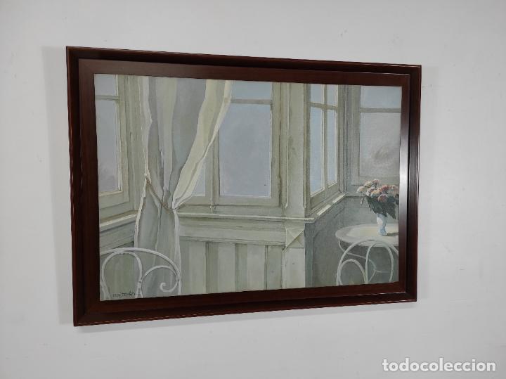 Arte: Peré Solanilla (Olot, 1963) - Óleo sobre Tela - Foto 7 - 262999045