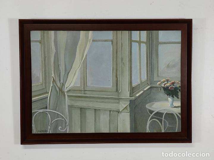 PERÉ SOLANILLA (OLOT, 1963) - ÓLEO SOBRE TELA (Arte - Pintura - Pintura al Óleo Contemporánea )