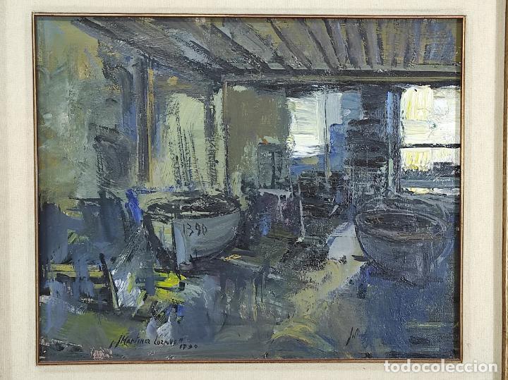 Arte: Josep Maria Martinez Lozano (Barcelona 1923- Llançà 2006) - Óleo sobre Tela - Foto 2 - 263008180