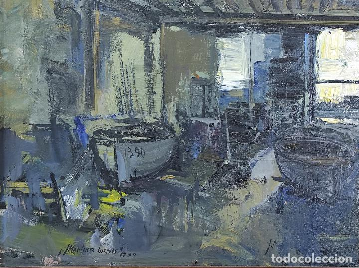 Arte: Josep Maria Martinez Lozano (Barcelona 1923- Llançà 2006) - Óleo sobre Tela - Foto 3 - 263008180