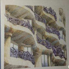 Arte: LA PEDRERA CASA MILÁ ANTONI GAUDI BARCELONA. Lote 263017265