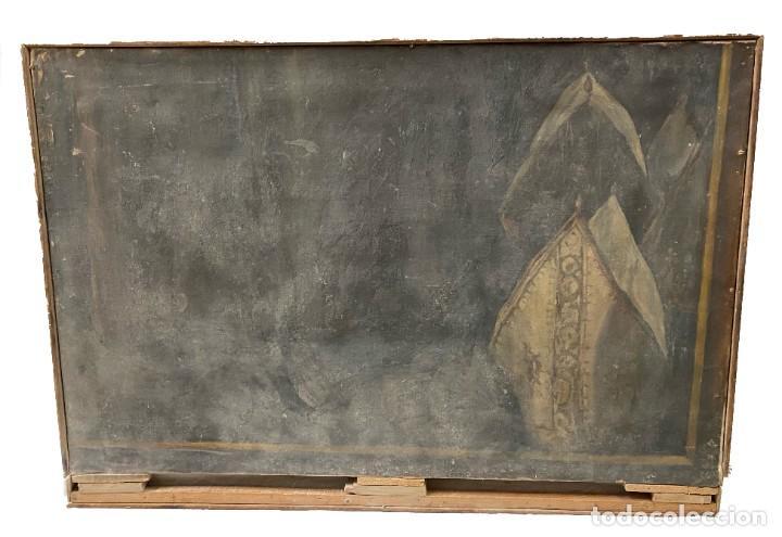 ÓLEO SOBRE LIENZO DE IGNACIO ZULOAGA, INÉDITO, FIRMADO. SAN BERNARDINO DE SIENA DEL GRECO. 102X72. (Arte - Pintura - Pintura al Óleo Moderna sin fecha definida)