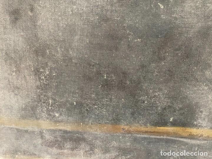 Arte: Óleo sobre lienzo de Ignacio Zuloaga, inédito, firmado. San Bernardino de Siena del Greco. 102x72. - Foto 5 - 263032795