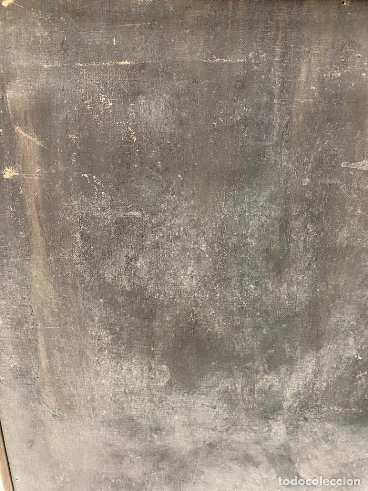 Arte: Óleo sobre lienzo de Ignacio Zuloaga, inédito, firmado. San Bernardino de Siena del Greco. 102x72. - Foto 6 - 263032795