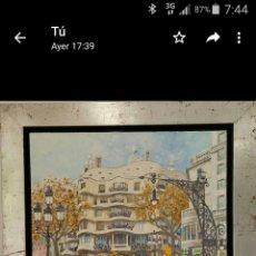 Arte: LA PEDRERA CASA MILÁ ANTONI GAUDI BARCELONA. Lote 263034880